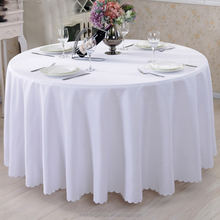 Cheap manufacturer wholesale polyester wedding tablecloths table linens for sale round tablecloths