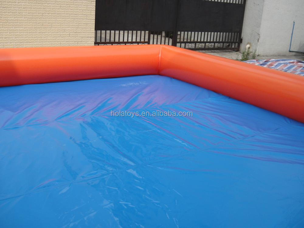 Hola popular inflatable pool rental/inflatable swimming pool liner