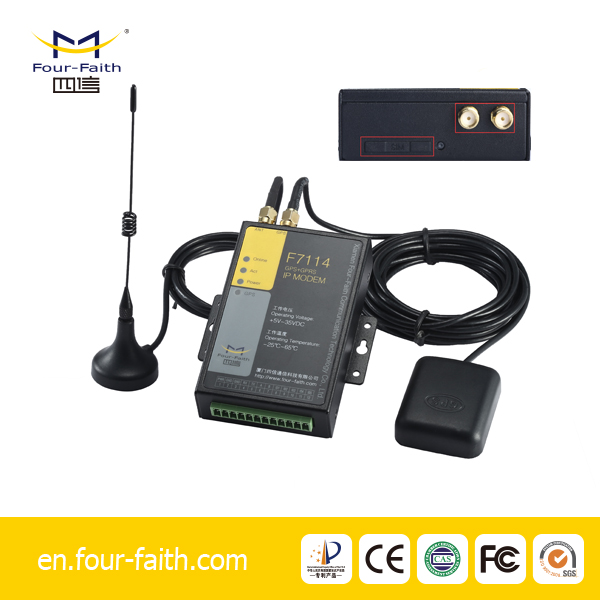 F7114 GPS Tracker, rs232 rs485 and Modems Band GSM /GPRS Modem GPS Function 3G Modem