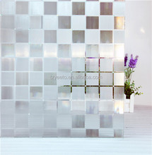 Excellent Quality 3D Static Cling Window Film Stained Glass Paper Decorative Frosted Vinyl