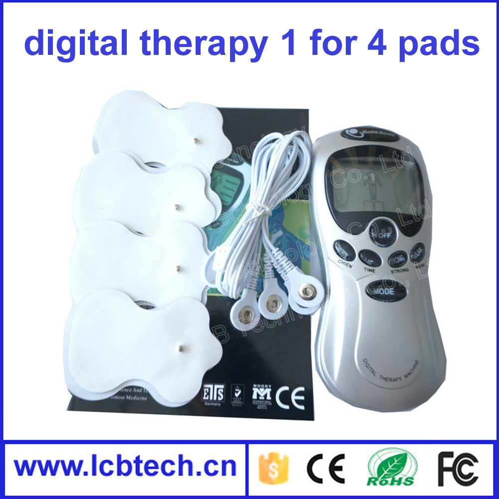 Low price Digital Therapy body Machine electronic pulse massager personal mini slimming body Massager