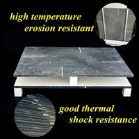 Shuttle kiln used 530*330*10mm Refractory Sic slab
