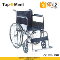 Rahabilitation Therapy Supplies foldablel lightweight aluminum function of wheelchair