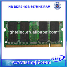 Bulk used laptop computers motherboard 1gb ddr2 667 sodimm ram