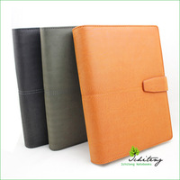 Suede Leather Notebook Cover With Business