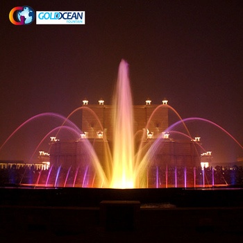 Modern Swing Fountain for Park or Lake