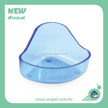 Transparent Hamster Cage Accessory Feeder for Hamster