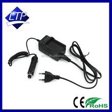 Battery Portable charger usb charger lp-6 for canon camera battery with car charger