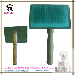 (XL) PR80030-2 dog grooming accessories soft comfortable gourd shape handle dog brush pet grooming