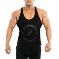 95% cotton & 5% spandex slim fit mens fitness singlet tank top