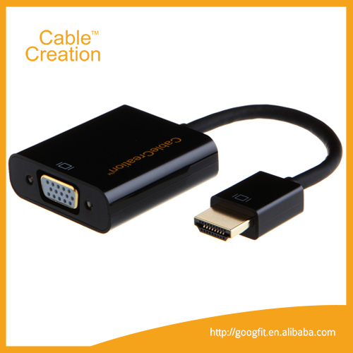 1080P HDMI Male to VGA Female Video Converter Adapter Cable for PC Mac DVD HDTV