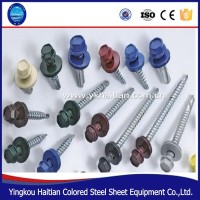 Wholesale High Quality Roof EPDM Washer Assorted Size hex Head Galvanised Zinc Self Drilling Screw Self Tapping Screw