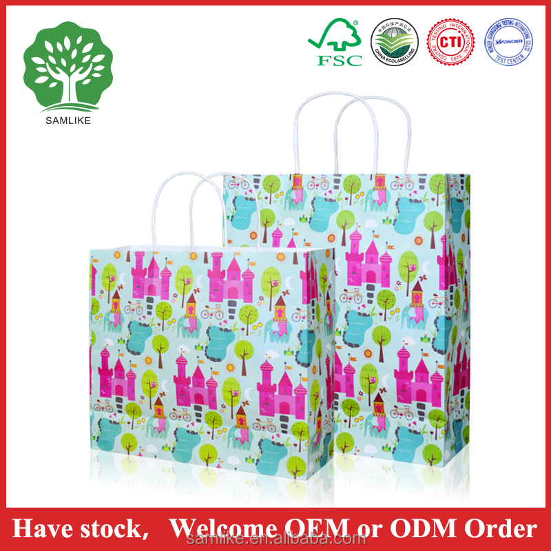 protion gift custom paper bag nice design paper bag making machine
