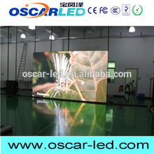 double side p6 indoor full color led display xxx video xx pane made in Oscarled with great price