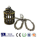 Fashion Bronze Metal Chain Antique Pocket Watch