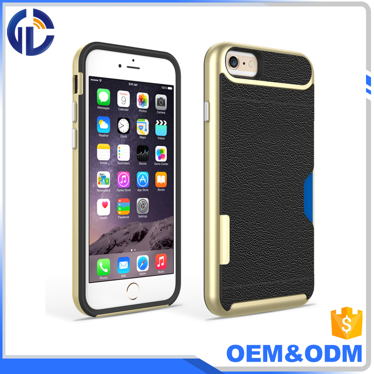 new brand name phone card case for iphone 7 case