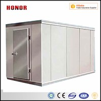 The Vacuum Cold Storage Room Container Of Fruits And Vegetables