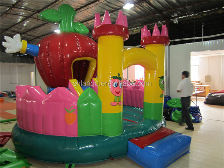 Apple Paradise Inflatable Cheap Bouncy Castles for Sale