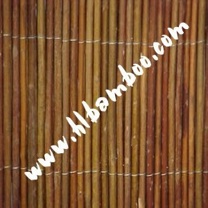 Natural Woven willow fence for garden or home decoration