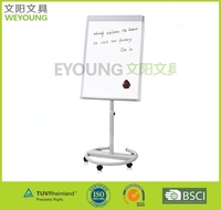 high quality office start-- mobile flipchart with whiteboard