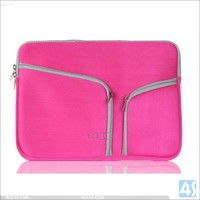 Colorful Lady style Deluxe Protective Sleeve for MacBook Pro/Air laptop notebook computer bag