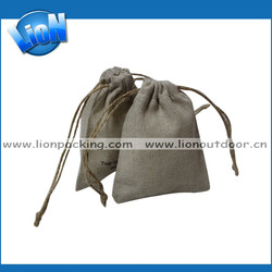 Hot sales handmade linen bags for shopping and promotiom,good quality fast delivery