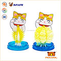 Educational cat toy, DIY magic crystal growing paper toy for children, new toy for 2014