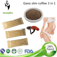NEW Recipe Gano instant coffee ganoderma slimming coffee 3 in 1