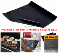 OEM manufacturer FDA approve PTFE Non-stick BBQ Grill Mat