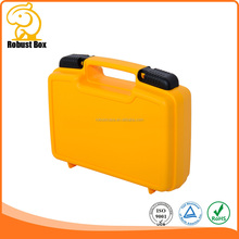 Simple Hard Injection Moulding Plastic Tool Packing Case with Customized foam 265*210*80mm