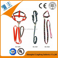 high quality nylon/polyester dog leashes and collar