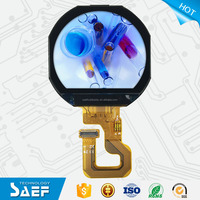 1.22 inch display round shape TFT lcd module with 240*(RGB)204 lcd screen