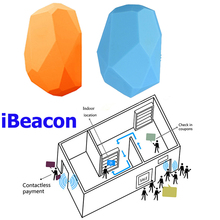 BLE 4.0 ibeacon Waterproof beacon positioning transmitter module build uuid programmable beacon