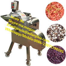 High efficiency stainless steel labor-saving vegetable fruit dicing machine/vegetable and fruit dicer