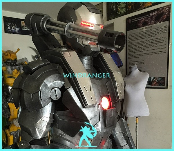 Windranger - Moving ironman costume, moving robot