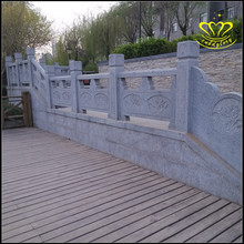 Stone railing granite bridge railing boutique series of various types of carved railings
