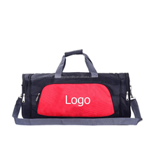 Wholesale cheap sports bag with basketball/cloth/shoe compartment