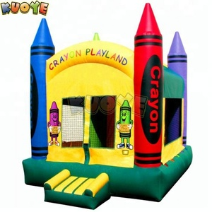 Crayon Playland Inflatable Bouncer for toddlers