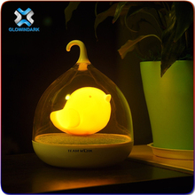 Wisdom Victory 2016 Cute Cartoon Night Light - Lovely Novelty USB Rechargeable Battery Birdcage Decor Lamp for Kids Bedroom