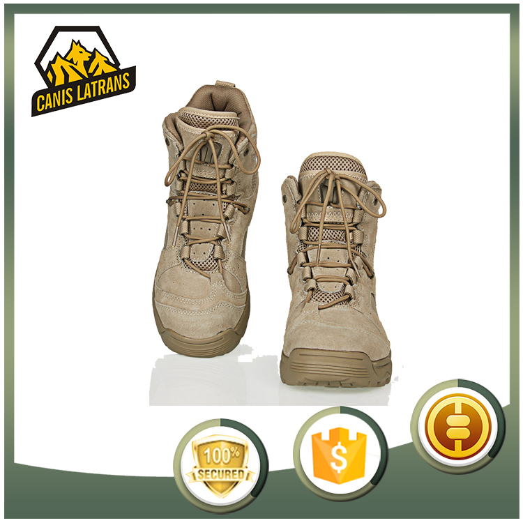 Professional Outdoor Safety Shoe Genuine Leather Military <strong>Boots</strong>