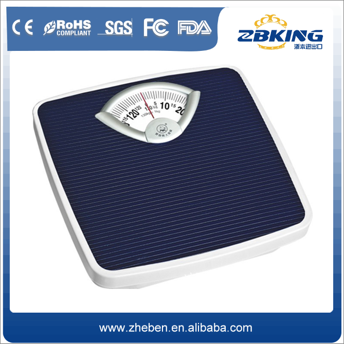 Factory supplier electronic platform body fat mechanical scale
