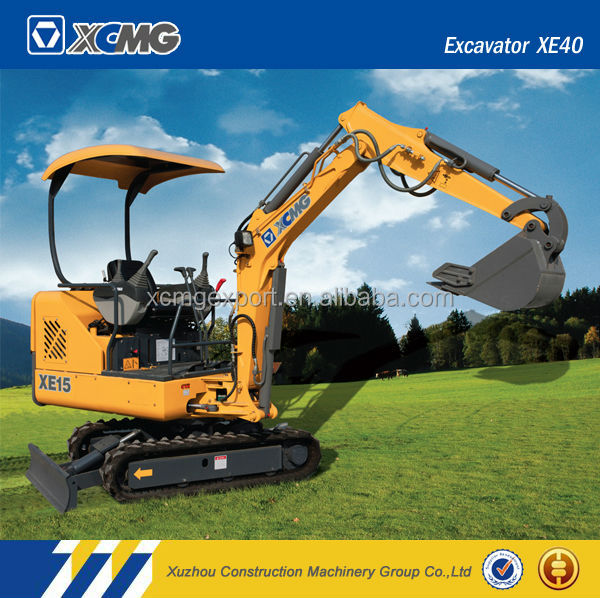 XCMG official manufacturer XE15 1.5ton mini excavator prices