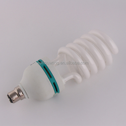 Cheap Price Led Lighting Screw Type Pin Type 9W Pure Triphosphor CFL Lamp Bulbs E27 B22 Base Cell Half Spiral Energy Saving Lamp