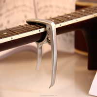 Promotional zinc alloy capo guitar