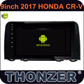 2017 CRV car DVD Player with 9 inch Digital Touch Panel and Android 6.0 System