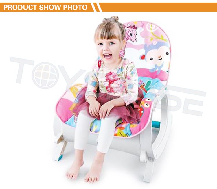 Hot Sell Multifunction Newborn Swing Foldable Electric Vibrating Rocking Chair Baby Bouncer