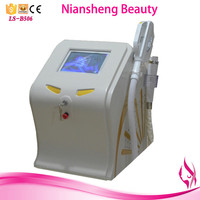 Niansheng 2016 Multifunction shr ipl beauty machine / new laser for tattoo remove