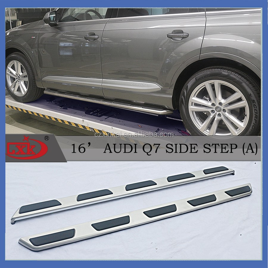 Stainless steel Side Steps/Running Boards for Q7 Auto Accessories parts