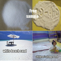Free sample Quartz Silica natural color fine sale white beach sand