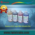 Compatible for Allwin Liyu myjet JHF digital printing machine konica 14pl ink